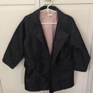 GAP Girls Jean Coat 💗